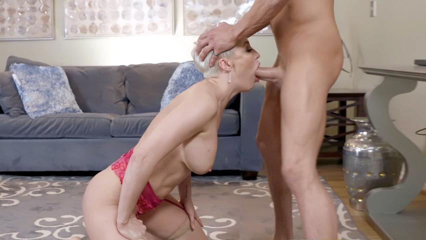 Mamuśki dżinsy porno